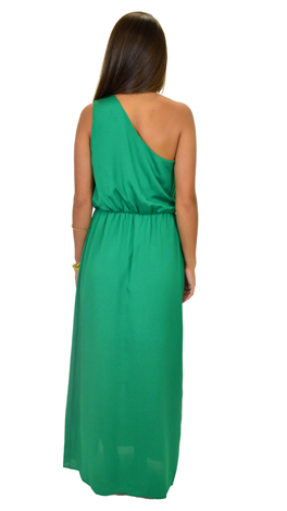 3aaa8ef540f2 Jeannie Maxi, Green :: Dresses :: The Blue Door Boutique