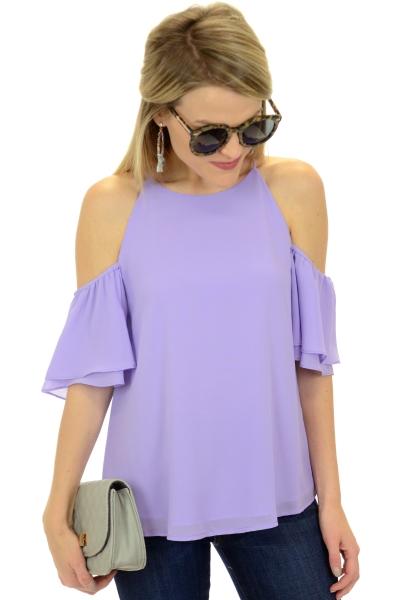 Sienna Top, Lavender