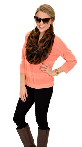 Sweet Peach Sweater