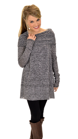 In Ashes Tunic, Black