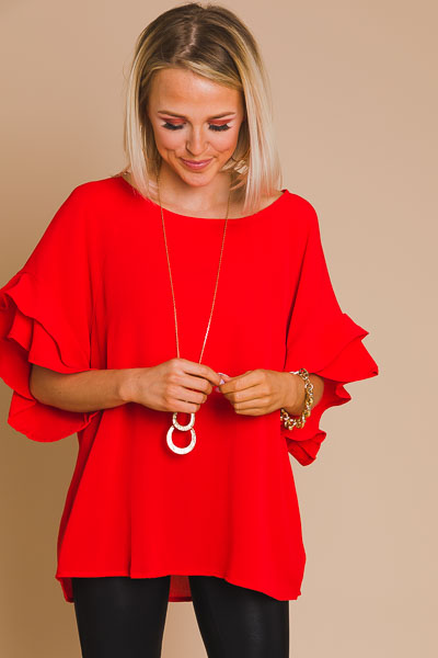Eliza Top, Red