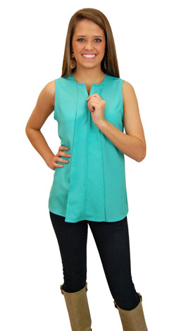 Zip-a-dee-doo Top, Mint