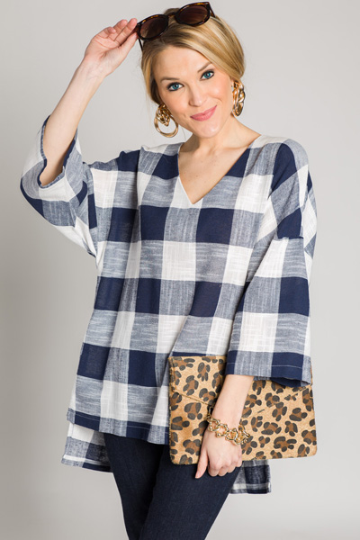 On a Picnic Tunic, Navy