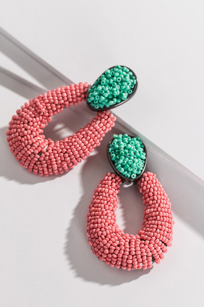 Grand Entrance Earring, Pink
