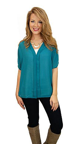 Classic Blouse, Green