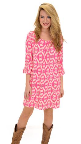Sloane Shift Dress, Pink