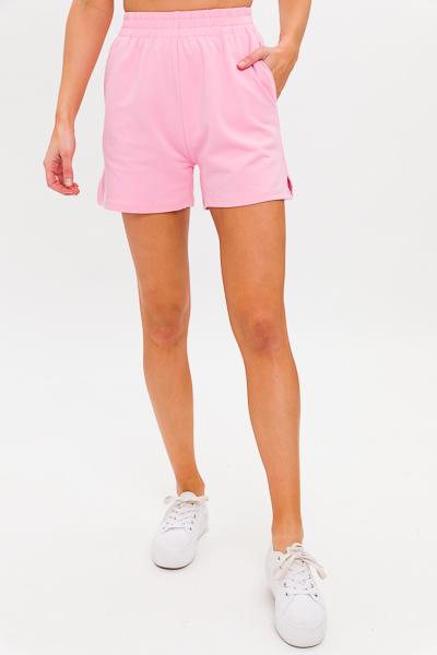 Sweat Shorts, Bubblegum Pink