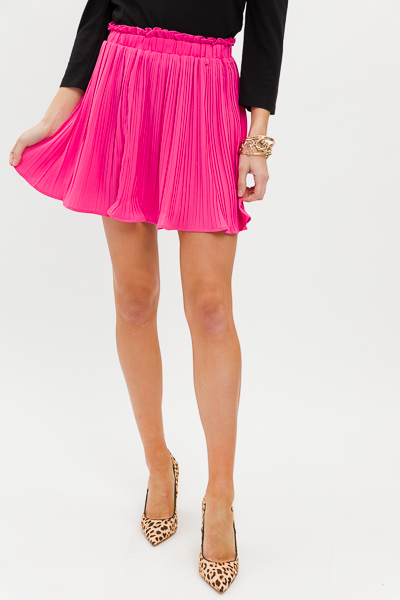 Perfectly Pleated Skirt, Pink