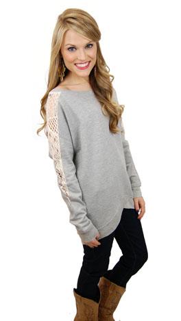 Feeling Lacey Sweatshirt