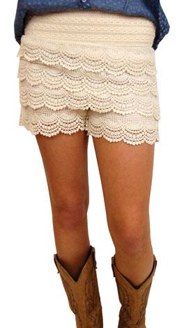 Crochet Craze Short