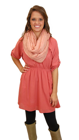 All Day Long Dress, Pink