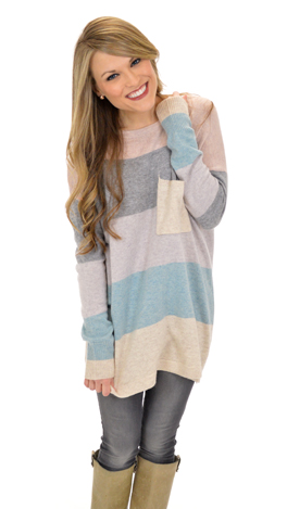 Pacific Sweater, Lavender