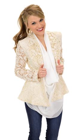 Legendary Lace Jacket