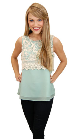 Layer of Lace Top