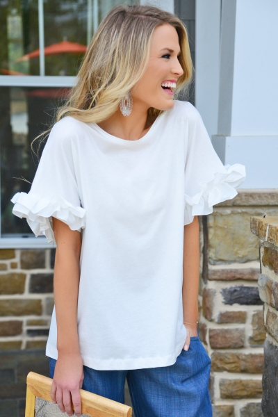 Ruffle Crush Top