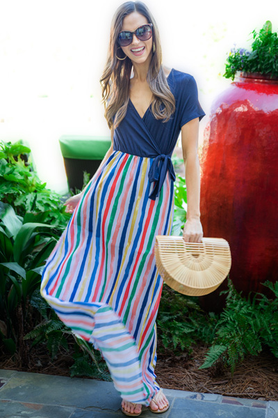 Knit Stripe Maxi