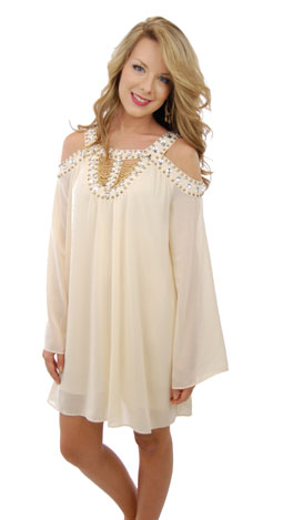 Greek Goddess Dress, Ivory