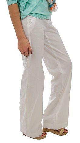 Drawstring Pant, white