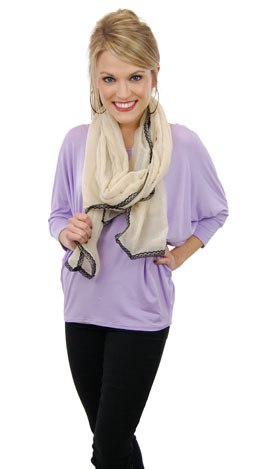 Simply Perfect Tee, Violet
