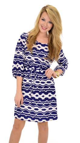 Pocket Print Dress