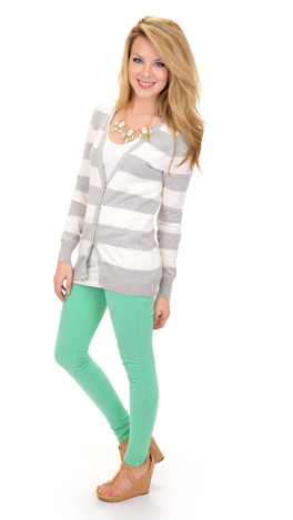 Just Be, Mint Skinny Jeans