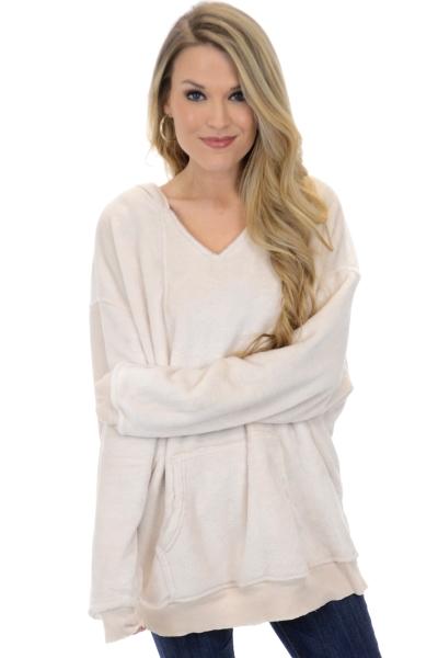 Blanket Soft Hoodie, Oatmeal