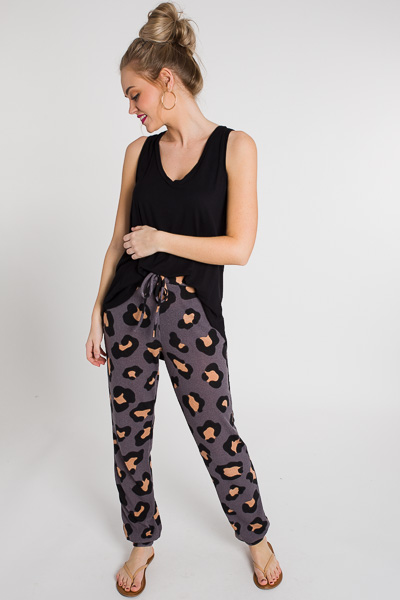 Charcoal Spotted Joggers