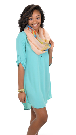 Go with it Tunic, Mint