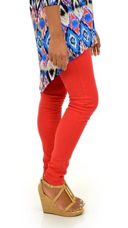 Red Skinny Jean