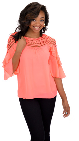 Loopy Blouse, Neon