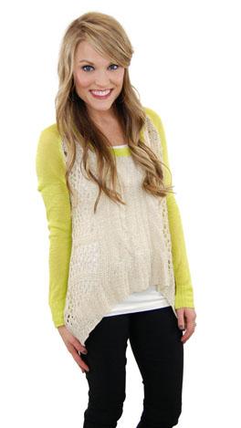 Key Lime Sweater