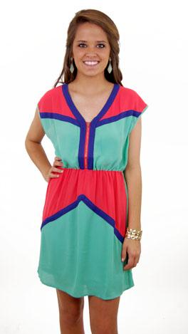 Zip Trip Dress