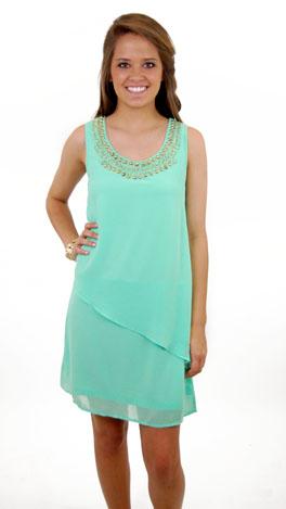 Neon Mint Dress