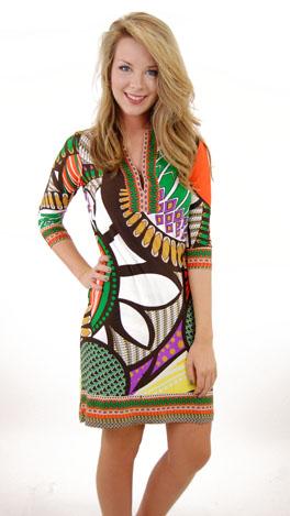 Clementine Tribe Dress