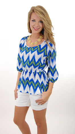 Electric Waves Top
