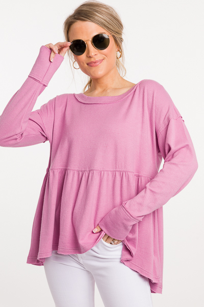 Loose in Lilac Pullover