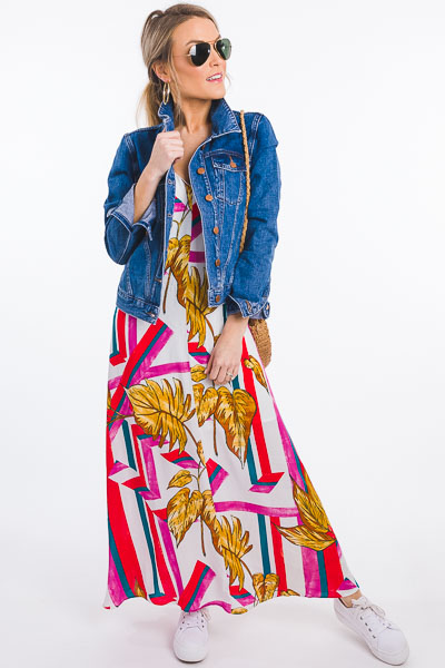 Abstract Palm Maxi