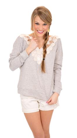 My Wish Sweatshirt, Gray