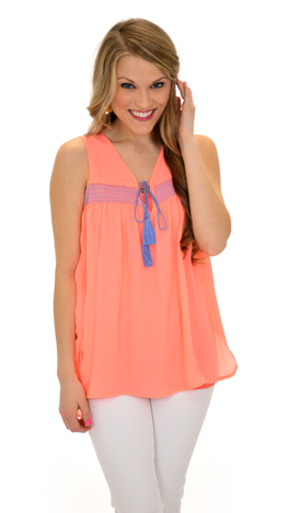 Bright and Breezy Tank