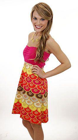 Judith March Retro Spectrum Dress
