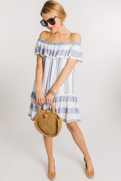 Beachy Ruffle Dress