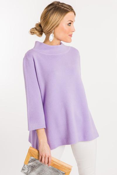 Audrey Sweater, Lavender