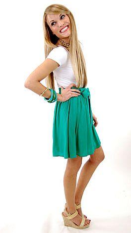 Dot It Yourself Skirt