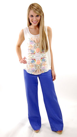Periwinkle Trouser