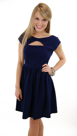 Bow Neck Dress