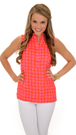Free and Easy Top, Pink