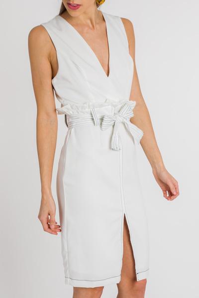 Paper Bag Waist Dress