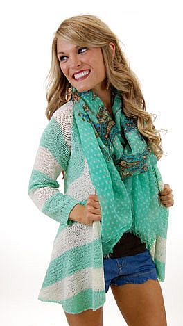 Flashback Cardigan, Mint