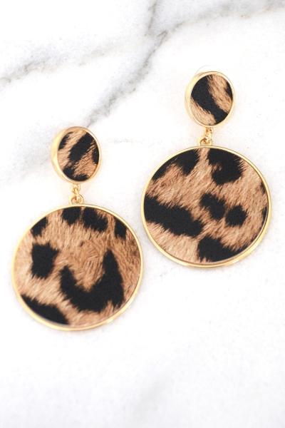 Duo Leopard Earring