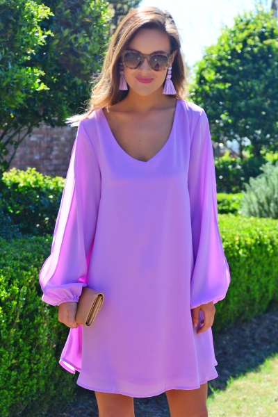 Lavender and In Love Dress